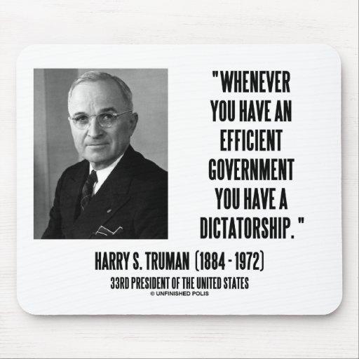 Siempre que usted tenga una dictadura eficiente de tapete de ratón