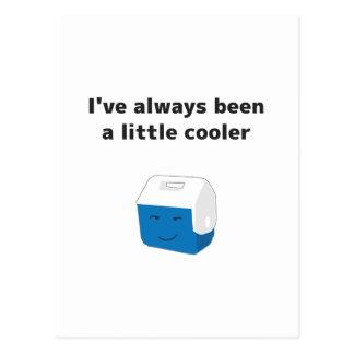 Siempre sido un pequeño refrigerador postales
