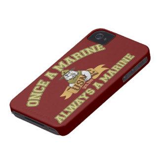 Siempre un infante de marina Case-Mate iPhone 4 cárcasas