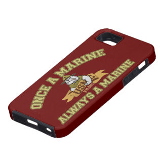 Siempre un infante de marina iPhone 5 fundas