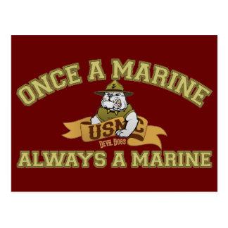 Siempre un infante de marina postal