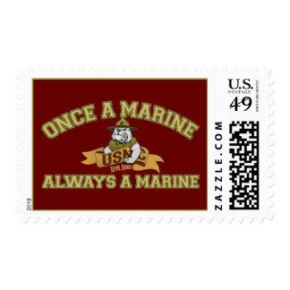 Siempre un infante de marina sello
