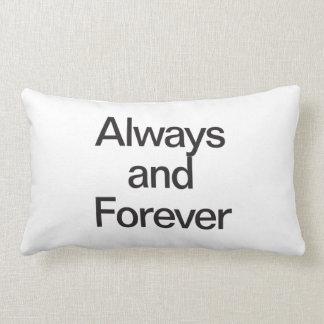 siempre y para siempre cojines