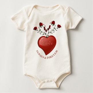 Siempre y para siempre traje de bebé