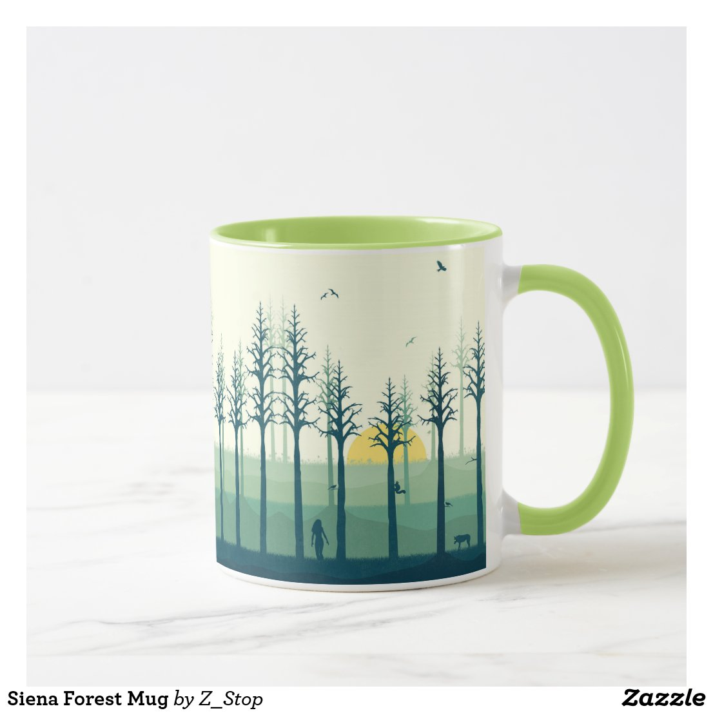 Siena Forest Mug
