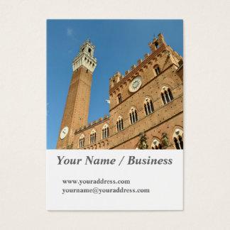 Siena, Italy 2016 calendar Business Card