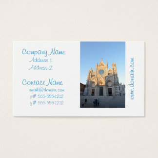 Siena Italy Business Card