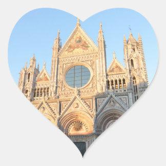 Siena Italy Heart Sticker