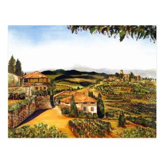 Siena, Italy Postcard