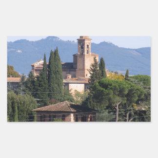 Siena, Italy Rectangular Sticker