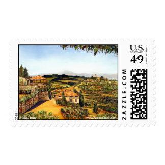 Siena, Italy Stamp