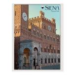 Siena - mañana de Palazzo Pubblico Postales
