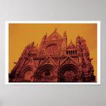 Siena Orange Posters