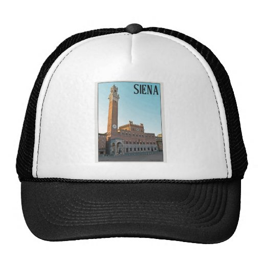 Siena - Palazzo Pubblico Morning Trucker Hats