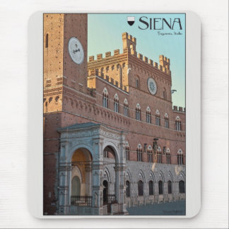 Siena - Palazzo Pubblico Morning Mouse Pad
