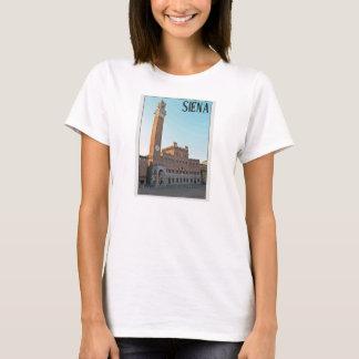Siena Palazzo Pubblico Morning T-Shirt
