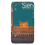 Siena - Palazzo Pubblico Night iPod Case-Mate Cases