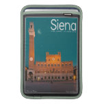 Siena - Palazzo Pubblico Night Sleeve For MacBook Air