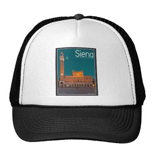Siena - Palazzo Pubblico Night Mesh Hat