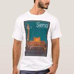 Siena - Palazzo Pubblico Night T-Shirt