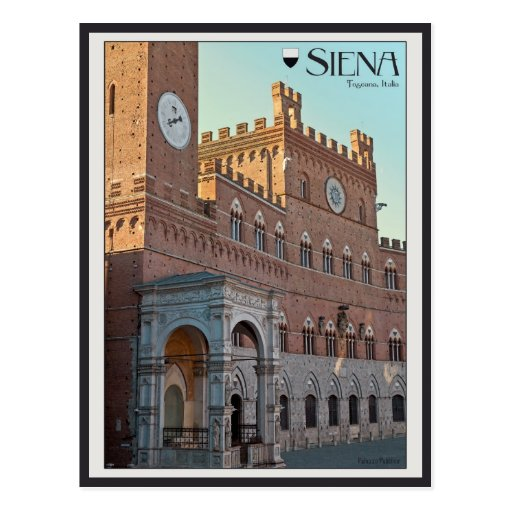 Siena - Palazzo Pubblico Post Cards