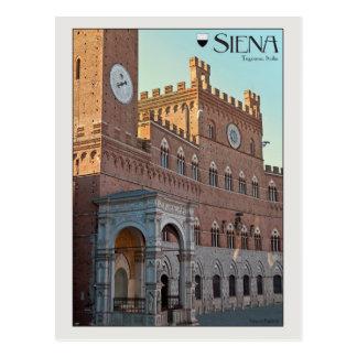 Siena - Palazzo Pubblico Postcard