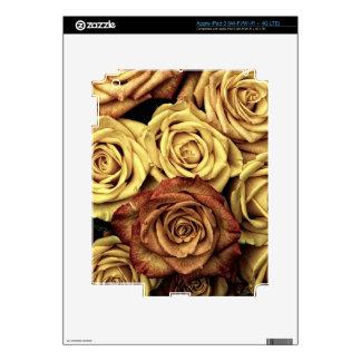 SIENA ROSES iPad 3 DECAL