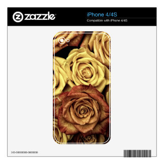 SIENA ROSES SKINS FOR THE iPhone 4S