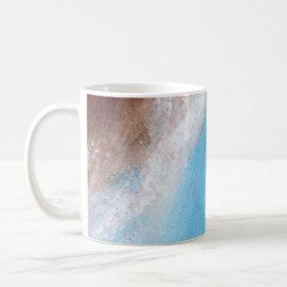 Siena Turquoise Abstract Mug
