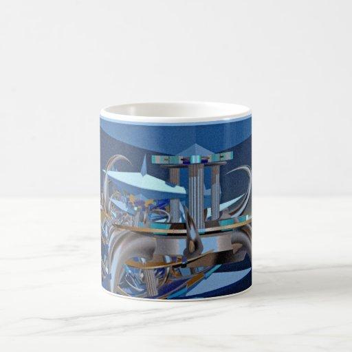 sience fiction crash - iPAD design Coffee Mug
