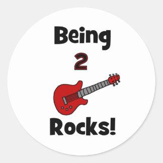 ¡Siendo 2 rocas con la guitarra Etiquetas