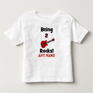¡Siendo 2 rocas!  con la guitarra Tshirts