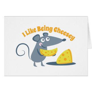 Siendo Cheesey Felicitacion