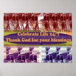 Siendo imágenes agradecidas y curativas posters