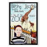 Siendo Jacob al día en el parque zoológico Felicitaciones