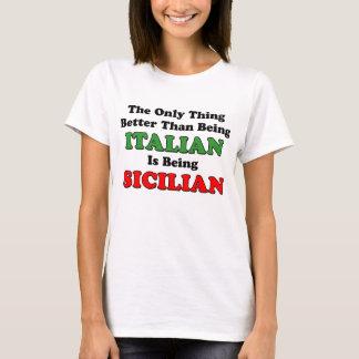 Siendo siciliano playera