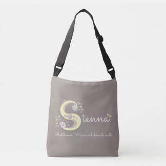 Sienna name and meaning monogram bag