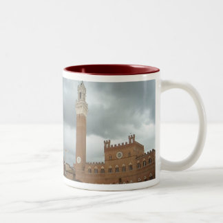 Sienna - Piazza del Campo Two-Tone Coffee Mug
