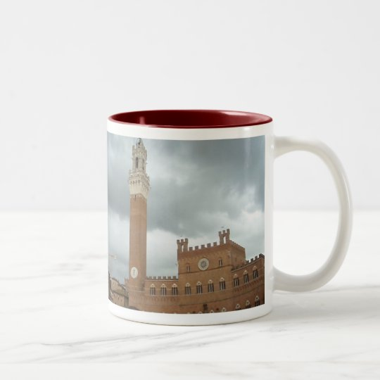 Sienna - Piazza del Campo Two-Tone Coffee Mug