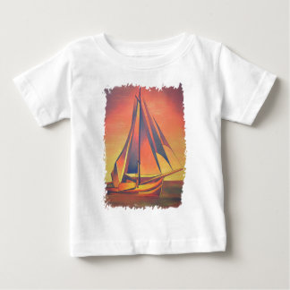 Sienna Sails At Sunset Baby T-Shirt