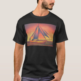 Sienna Sails at Sunset T-Shirt
