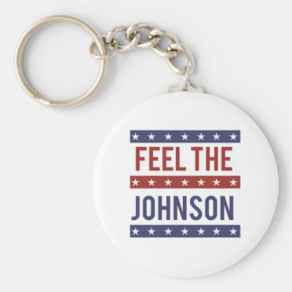 Sienta al Johnson - Gary Johnson 2016 - - Llavero Redondo Tipo Pin