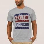 Sienta al Johnson - Gary Johnson 2016 - - Playera