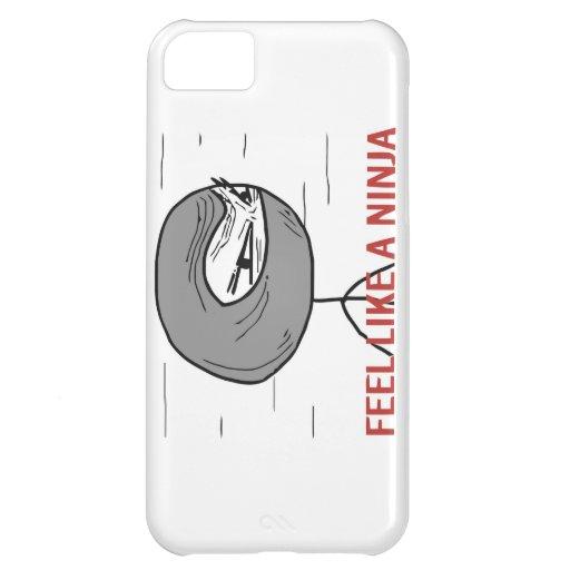 Sienta como un Ninja Funda Para iPhone 5C