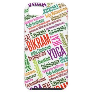 Sienta el Asanas del calor de Bikram del Practione iPhone 5 Funda