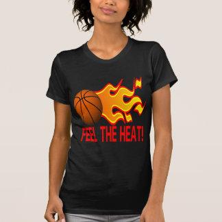 Sienta el calor camisetas