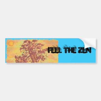Sienta el zen pegatina para auto