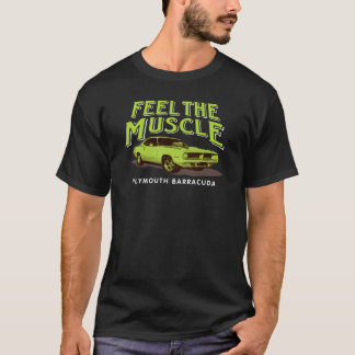 Sienta la camiseta del músculo
