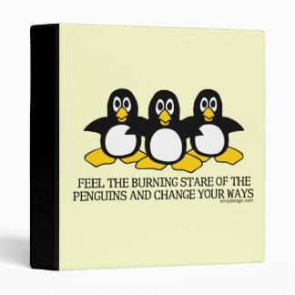 """Sienta la mirada fija ardiente de los pingüinos carpeta 1"""""""