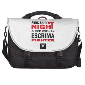 Sienta seguro en el sueño de la noche con un bolsas de ordenador